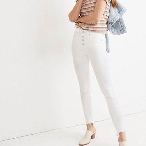 "Sold ""Madewell white jean New without tag"